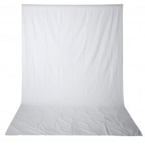 Telon de Fondo 3m x 3.6m Neewer Blanco