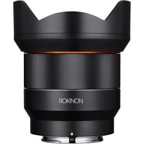 Lente Rokinon AF 14mm f / 2.8 FE para Sony E