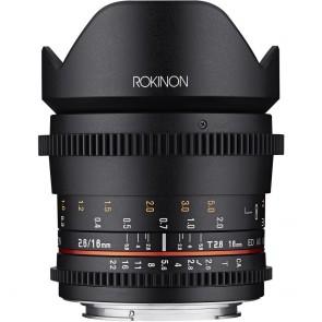 Lente Rokinon 16 mm T2.2 Cine DS para montaje Micro Cuatro Tercios para APS-C