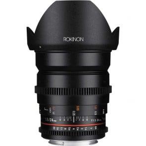 Lente Rokinon 24 mm T1.5 Cine DS para montaje Micro Cuatro Tercios