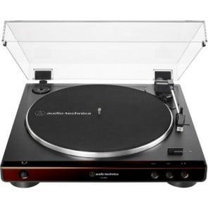 Tocadiscos Audio-Technica Consumer AT-LP60X  Negro con Cafe