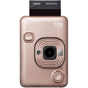 Camara Instantanea Fujufilm Instanx Mini LiPlay Hybrid Rosa/Dorado