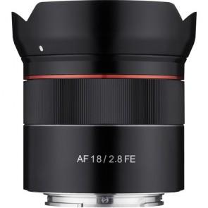 Lente Rokinon AF 18mm f / 2.8 FE para Sony E