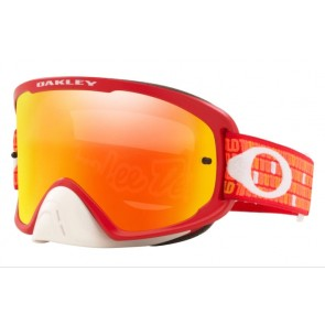 Antiparras Moto Oakley O Frame 2.0 Troy Lee Designs Orange Red