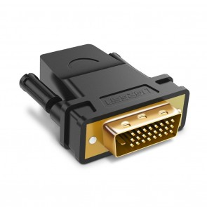 Adaptador HDMI hembra a DVI 24 + 1 macho Ugreen