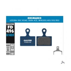 Pastillas para frenos Shimano Ultegra, Dura-Ace, RS305/405/505/805 y XTR M9100