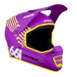 Casco de Bicicleta SixSixOne Reset Purpura