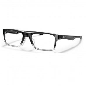 Lentes Opticos Oakley Plank 2.0 Polished Black Clear Fade