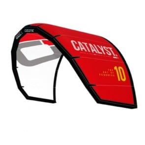 Kite Ozone Catalyst V3 + Barra + Leash + Red White 6mts