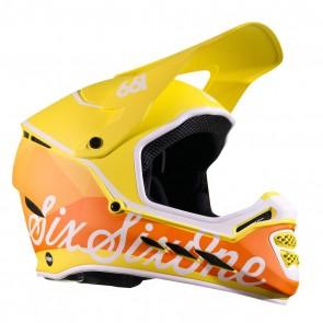 Casco de Bicicleta SixSixOne Reset Geo Citrus m