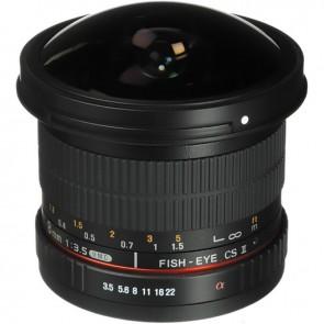 Lente Ojo de Pez CS II Rokinon 8mm f / 3.5 UMC para Sony Montura E