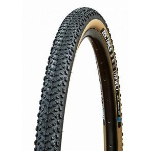 Neumático MSC Tires Gravel TLR 700x40 Brown 1C Epic Shield 60TPI