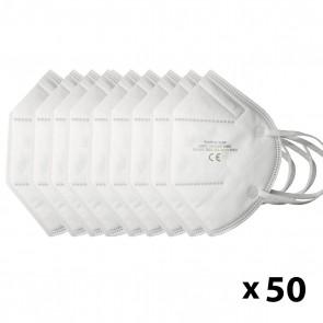 50 Unidades de Mascarillas KN95