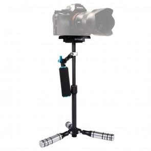 Estabilizador de mano de Fibra de Carbono para video y Camaras DSLR