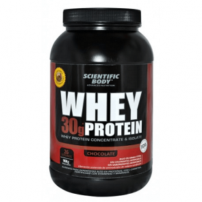 Suplemento Alimenticio Whey Protein 500g Chocolate Scientific Body