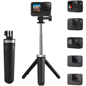Tripode y Palo de selfie extensible para Gopro Telesin