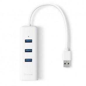 Adaptador USB 3 Puertos USB 3.0 y Adaptador Ethernet TP-Link