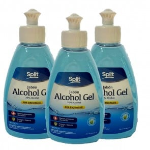Alcohol Gel al 70% 3 Unidades de 320ml