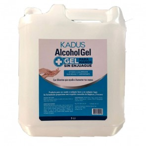 Alcohol Gel sin enjuague Kadus 5 Litros