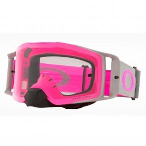 Antiparra Oakley MX FRONT LINE Tuff Blocks Gunmetal Pink PRIZM Mx Low Light