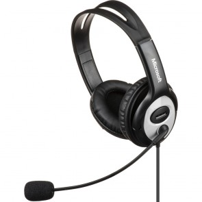 Audífonos con Micrófono USB Microsoft LifeChat LX-3000