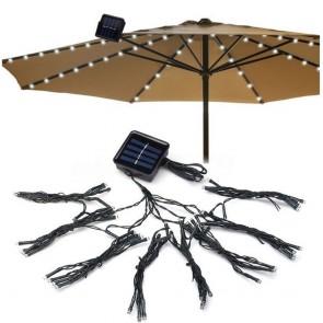 Guirnalda Solar 72 LED Ebest de 8 Tiras especial para Arboles