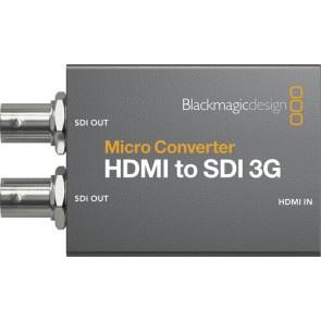 Blackmagic Design Micro Converter HDMI a SDI 3G con Fuente de Alimentacion