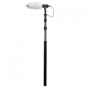 Boompole de Fibra de Carbono con Cable XLR Interno Boya