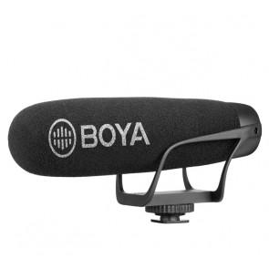 Microfono Shotgun Cardioide para Camaras y Smartphone Boya BY-BM2021