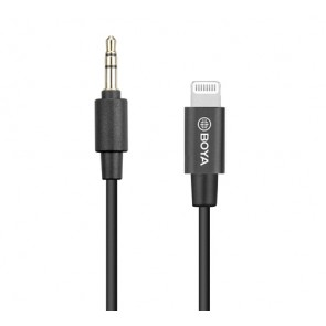 Adaptador de 3.5mm TRS a Lightning - Boya
