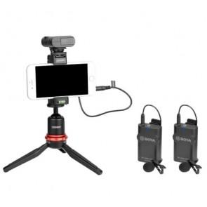 BY-WM4 Pro k2 Micrófono inalámbrico Dos-Canales