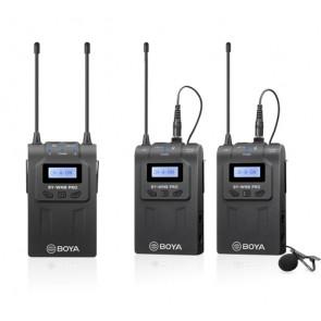 Sistema de Microfonos Inalambricos Doble BY-WM8 Pro-K2