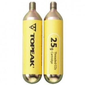Cartucho CO2 Topeak 25G x 2 unid