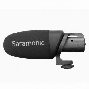 Micrófono Shotgun con Bateria para Cámaras DSRL o Smartphone Saramoinc