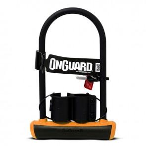 Candado OnGuard U-Lock Neon NS STD Naranjo