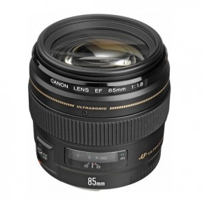 Lente Canon EF 85mm f/1.8 USM 2
