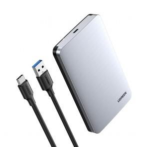 """Case de Disco Duro USB-C 2.5"""" Ugreen"""