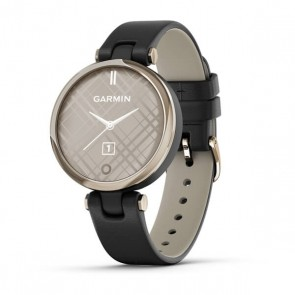Smartwatch Garmin Lily Correa de Cuero MetalHazel Black