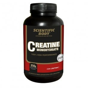 Creatine Monohydrate 250g Scientific Body