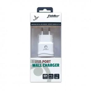 Cargador de Pared Fiddler con 1 puerto USB