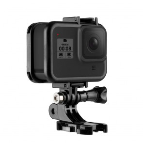 Frame para Gopro Hero 8 Black con Cold Shoe Integrado