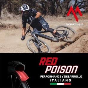Mousse Mtb Red Poison 27,5 Rojo TechnoMousse