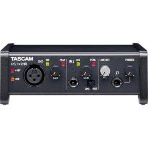 Interfaz de audio Tascam US-1x2HR Desktop 2x2 USB Type-C