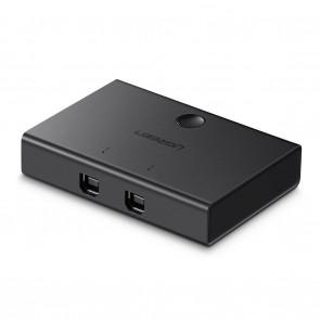 Interruptor de Doble Salida USB 2.0 Ugreen