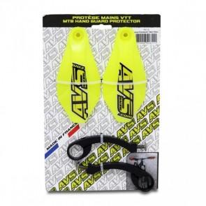 Kit Protector de Puño AVS Racing Amarillo
