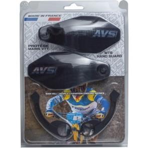 Kit Protector de Puño AVS con Soporte Aluminio Negro