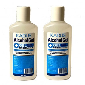 Pack de 2 Alcohol Gel Kadus 110ml
