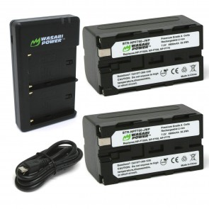 Kit de 2 Bateria para Sony NP-F730, NP-F750, NP-F760, NP-F770 Wasabi