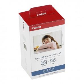 Set de 108 Papel Fotografico + Tinta KP 108INP Canon