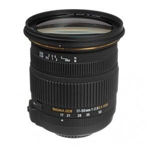 Lente Sigma 17-50mm f / 2.8 EX DC OS HSM para Nikon
